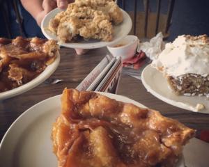 Variety of pies
