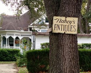 Nancy's Antiques in Brenham