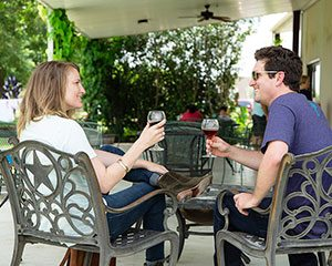 wine and romance in brenham
