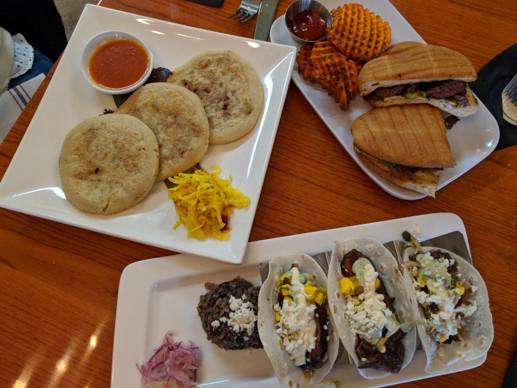 Las Americas cuisine